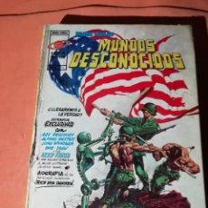 Cómics: MUNDOS DESCONOCIDOS. ANTOLOGIA DEL COMIC. Nº 2. EDICIONES VERTICE 1975. Lote 225346301