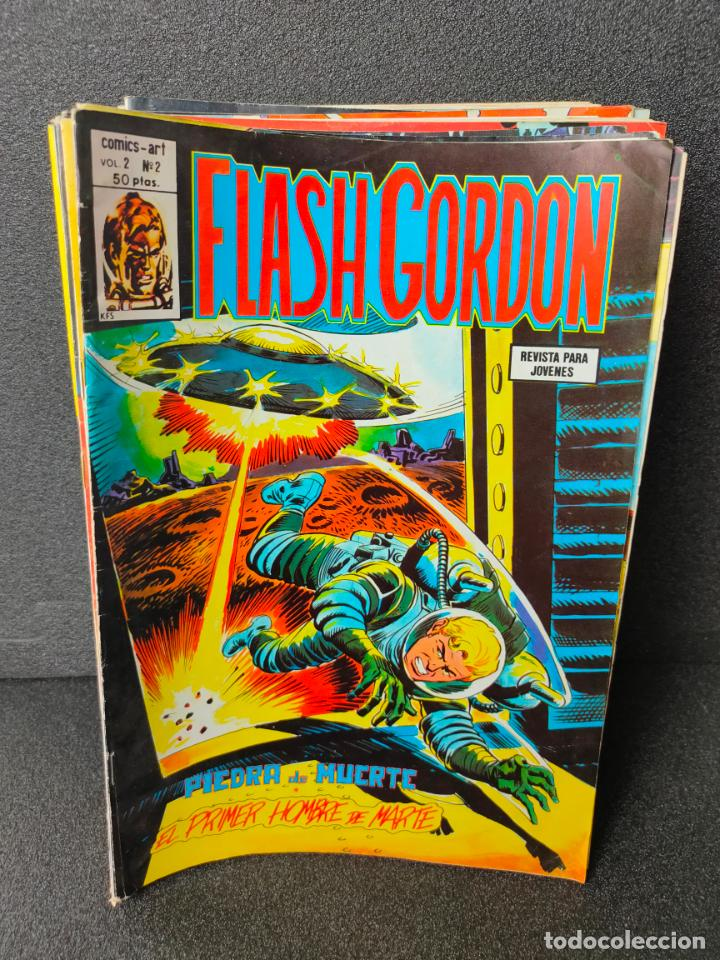LOTE 33 VOLUMENES - FLASH GORDON - V2 - EDICIONES VERTICE (Tebeos y Comics - Vértice - Flash Gordon)