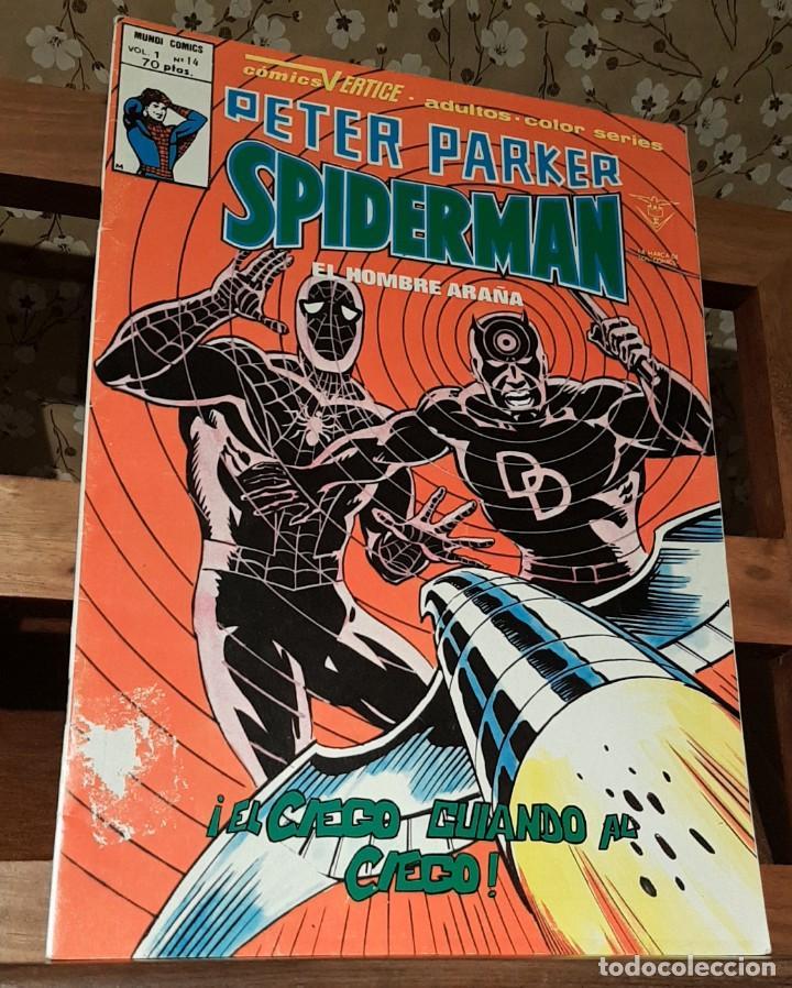 SPIDERMAN, VOL 1, Nº 14, COMICS VERTICE, COLOR SERIES. 1979 (Tebeos y Comics - Vértice - Otros)