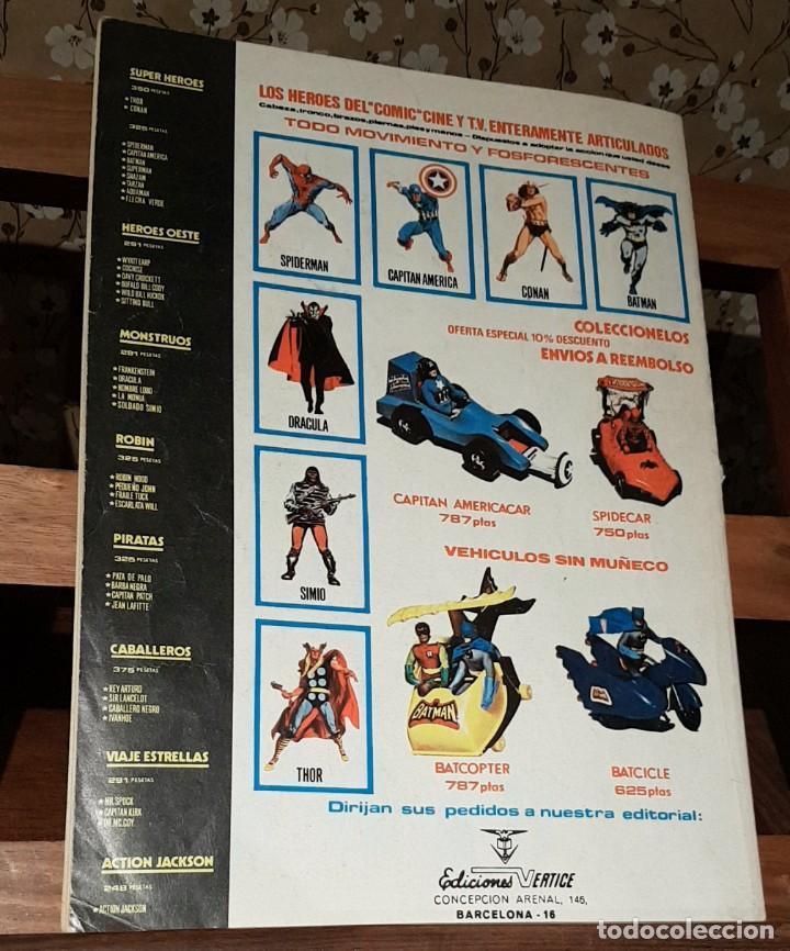 Cómics: COMIC RELATOS SALVAJES. ED. ESPECIAL ARTES MARCIALES. MUNDI COMICS. VERTICE. Nº 31. 1974 - Foto 2 - 225550330