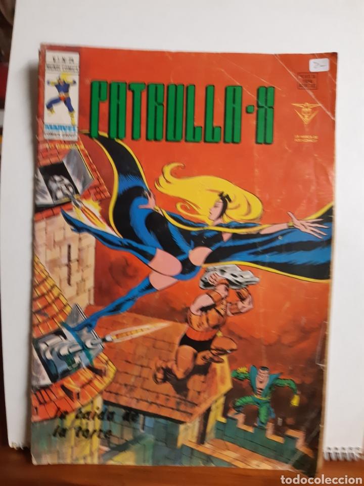 PATRULLA X VOLUMEN 3 NÚMERO 4 DE VERTICE COMPLETO PERO MAL ESTADO (Tebeos y Comics - Vértice - Patrulla X)