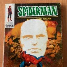 Cómics: CÓMIC SPIDERMAN Nº34 LA PISTA DEL CAMALEÓN EDICIONES VÉRTICE (TAZOS) AÑO 1971. Lote 225784938