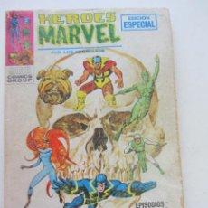 Comics: HEROES MARVEL VOL I LOS INHUMANOS Nº 6 VISPERAS DE MUERTE 1969 TACO VÉRTICE CX28. Lote 225797805