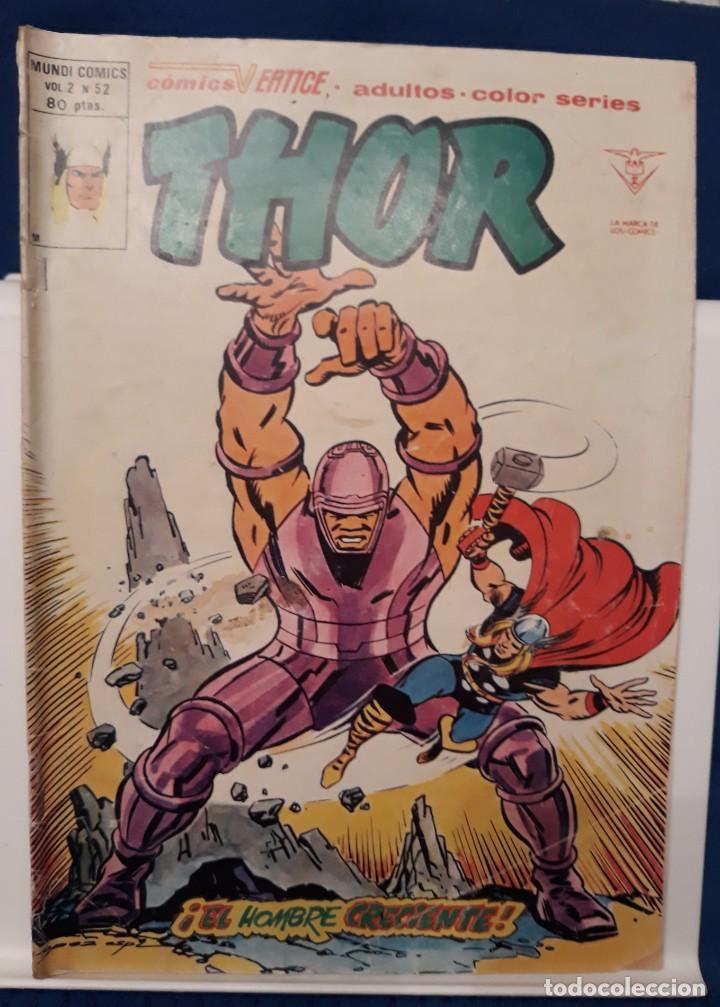 THOR VOL. 2 Nº 52 - VÉRTICE (Tebeos y Comics - Vértice - Thor)