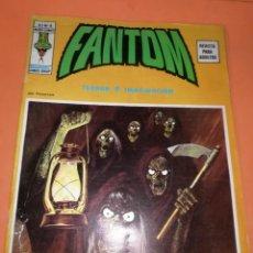 Cómics: FANTOM. TERROR E IMAGINACION.V.2 Nº 4. EDICIONES VERTICE 1974.. Lote 225865372