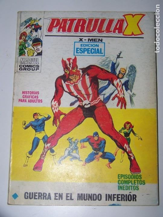 VERTICE PATRULLA X V VOL. 1 Nº 19 (Tebeos y Comics - Vértice - Patrulla X)