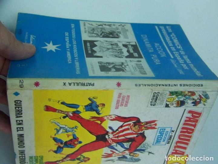 Cómics: VERTICE PATRULLA X V VOL. 1 Nº 19 - Foto 3 - 225904770
