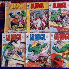 Cómics: VÉRTICE VOL. 3 LA MASA NºS 10 11 16 20. 1976. 35 PTS.. Lote 139875090