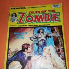 Cómics: ESCALOFRIO. Nº 29. TALES OF THE ZOMBIE. Nº 9. EDICIONES VERTICE.. Lote 225984490