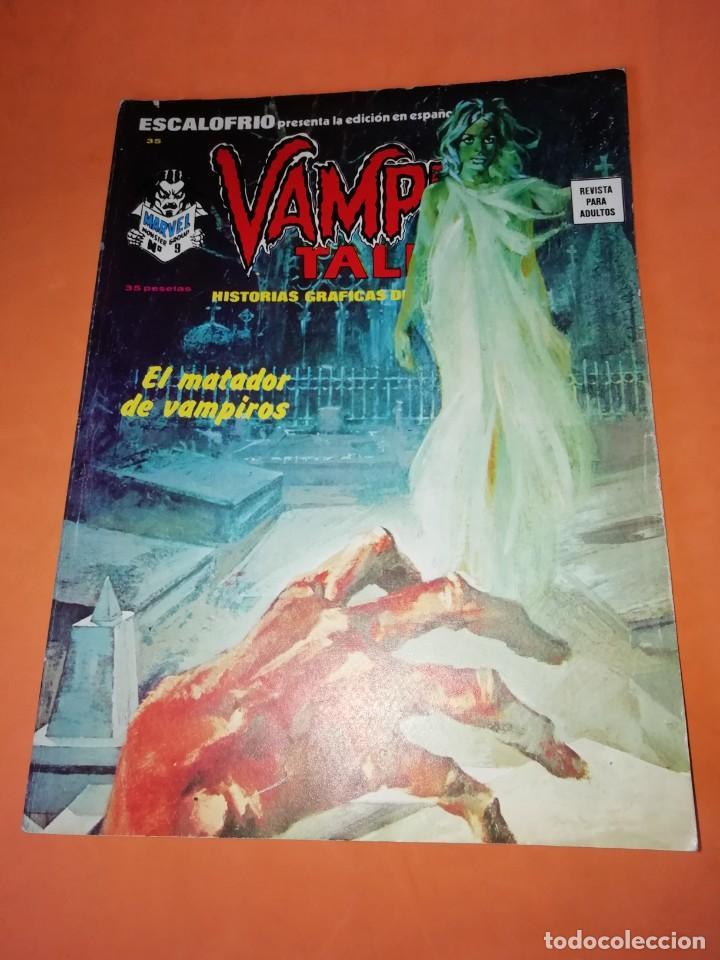 ESCALOFRIO Nº 35. VAMPIRE TALES Nº 9 . EDICIONES VERTICE. (Tebeos y Comics - Vértice - Otros)