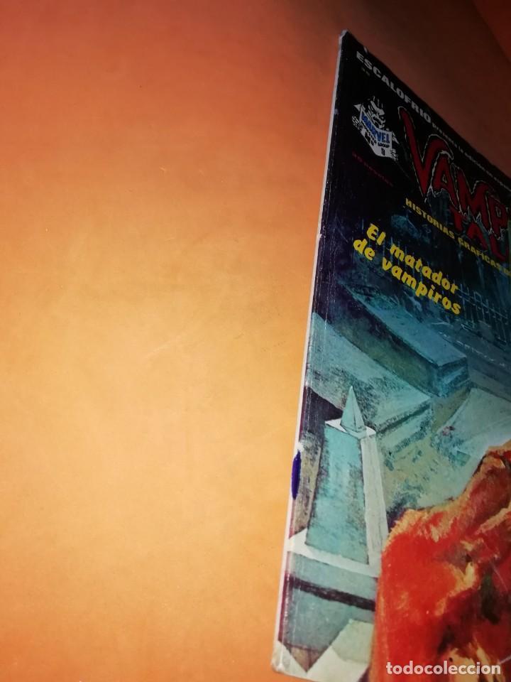 Cómics: ESCALOFRIO Nº 35. VAMPIRE TALES Nº 9 . EDICIONES VERTICE. - Foto 2 - 225987432