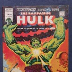 Cómics: THE RAMPAGING HULK VOL. 1 # 1 (VERTICE) - 1978. Lote 226052075
