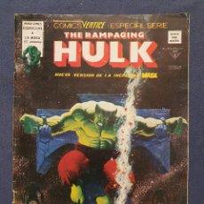 Cómics: THE RAMPAGING HULK VOL. 1 # 4 (VERTICE) - 1979. Lote 226053460