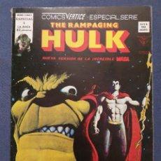 Cómics: THE RAMPAGING HULK VOL. 1 # 5 (VERTICE) - 1979. Lote 226053605
