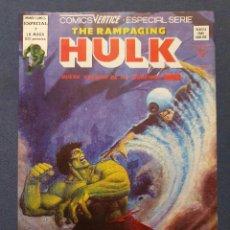 Cómics: THE RAMPAGING HULK VOL. 1 # 7 (VERTICE) - 1979. Lote 226054505