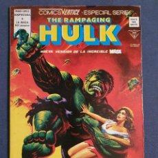 Cómics: THE RAMPAGING HULK VOL. 1 # 8 (VERTICE) - 1979. Lote 226054750