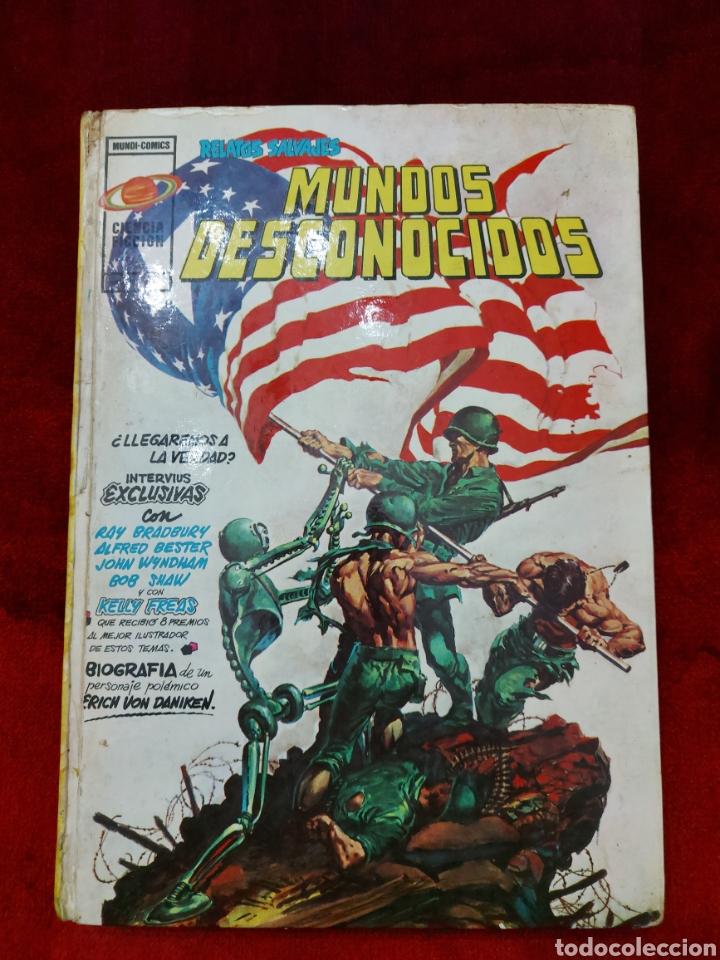 RELATOS SALVAJES MUNDOS DESCONOCIDOS TOMO 2 CIENCIA FICCIÓN MUNDI - COMICS VERTICE ANTOLOGÍA DEL COM (Tebeos y Comics - Vértice - Relatos Salvajes)