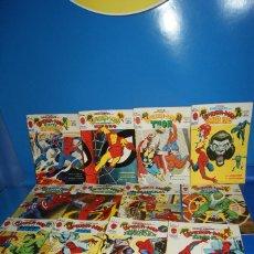 Cómics: LOTE 14 NUMEROS ESPECIAL SUPER HÉROES.SPIDERMAN. CASI COMPLETA .VÉRTICE 1976. Lote 226154305