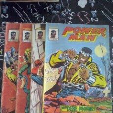 Cómics: VERTICE MUNDI-COMICS : POWERMAN COLECCION COMPLETA 4 NUM.. Lote 226256425