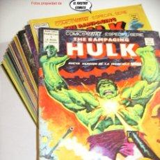 Cómics: THE RAMPAGING HULK, COLECCIÓN COMPLETA, ED. VERTICE AÑO 1978. Lote 226278060