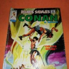 Cómics: RELATOS SALVAJES. CONAN EL BARBARO. COLOSO NEGRO. VOL 1 Nº 8. 1973. Lote 226293528