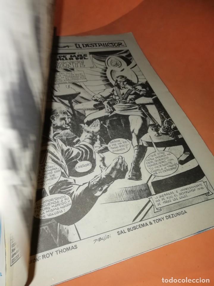 Cómics: RELATOS SALVAJES. KULL EL CONQUISTADOR. JINETES DE MAS ALLA. VOL 1 Nº 71. 1978. VERTICE - Foto 6 - 226302900