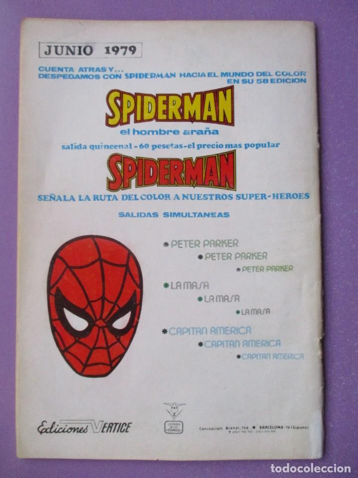 Cómics: SPIDERMAN Nº 60 VERTICE VOLUMEN 3 ¡¡¡¡BUEN ESTADO Y DIFICIL !!!! - Foto 2 - 226369545