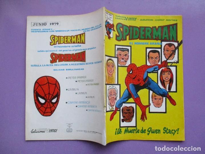Cómics: SPIDERMAN Nº 60 VERTICE VOLUMEN 3 ¡¡¡¡BUEN ESTADO Y DIFICIL !!!! - Foto 3 - 226369545