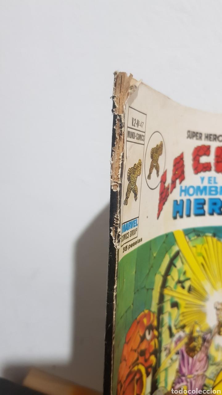 Cómics: LA COSA Y EL HOMBRE DE HIERRO N°47 EDICION VERTICE - Foto 3 - 226378610