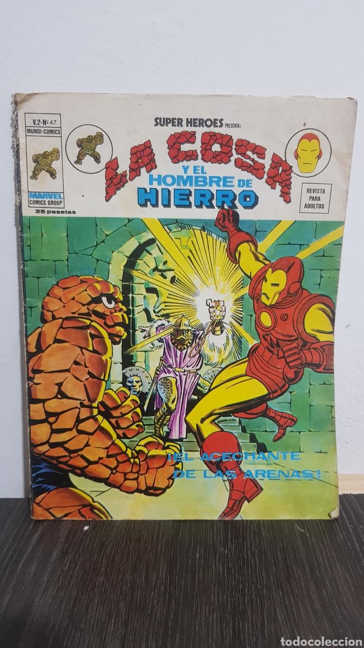 LA COSA Y EL HOMBRE DE HIERRO N°47 EDICION VERTICE (Tebeos y Comics - Vértice - Hombre de Hierro)