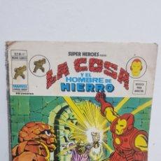Cómics: LA COSA Y EL HOMBRE DE HIERRO N°47 EDICION VERTICE. Lote 226378610