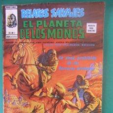 Cómics: EL PLANETA DE LOS MONOS RELATOS SALVAJES V. 2 Nº 3 EDICIONES VERTICE. Lote 226458115