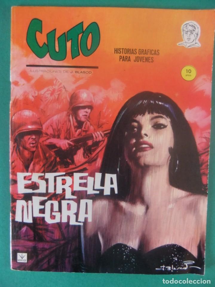 CUTO Nº 4 ESTRELLA NEGRA EDICIONES VERTICE (Tebeos y Comics - Vértice - Grapa)