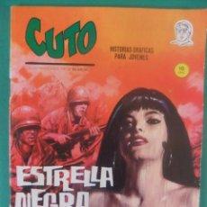 Cómics: CUTO Nº 4 ESTRELLA NEGRA EDICIONES VERTICE. Lote 226460595