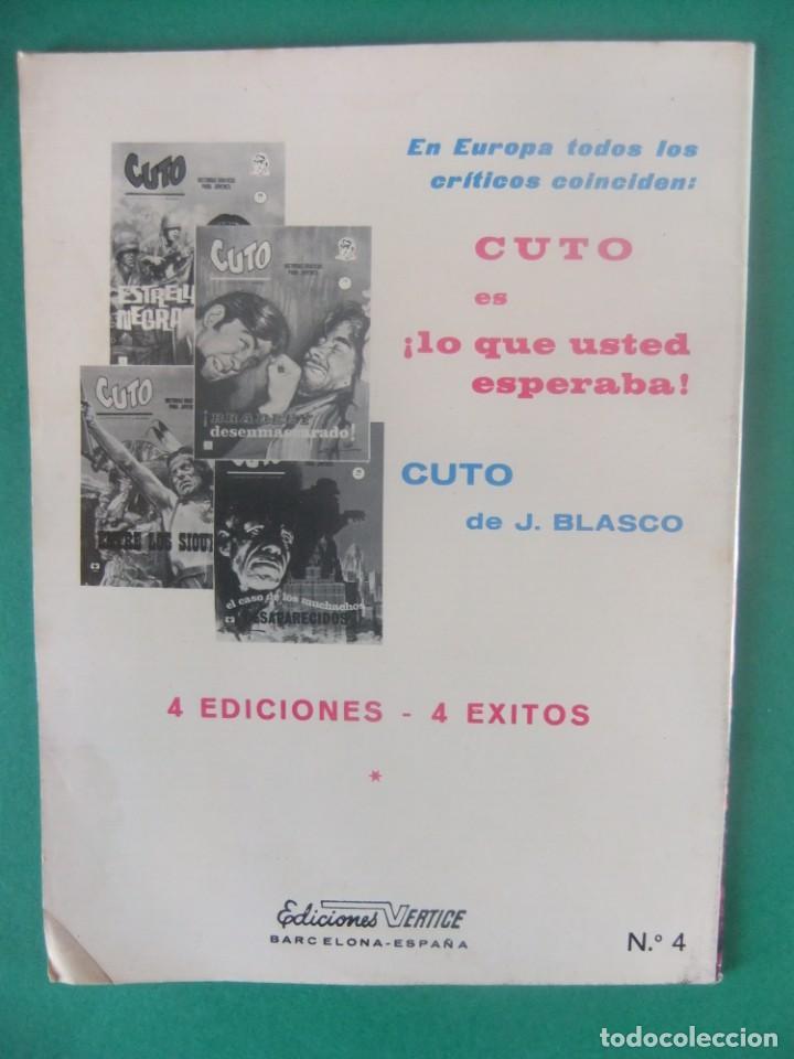 Cómics: CUTO Nº 4 ESTRELLA NEGRA EDICIONES VERTICE - Foto 2 - 226460595