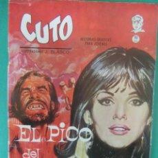 Cómics: CUTO Nº 5 EL PICO DEL DIABLO EDICIONES VERTICE. Lote 226460910