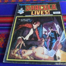 Cómics: VÉRTICE VOL. 1 ESCALOFRÍO NºS 32 DRACULA LIVES! 8 Y 52. 35 PTS. 1975. MUY RAROS.. Lote 29563742