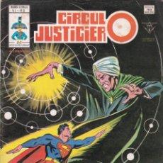 Cómics: CIRCULO JUSTICIERO. NÚMERO 3. MUNDI COMICS. EDICIONES VERTICE. BUEN ESTADO.. Lote 226622185