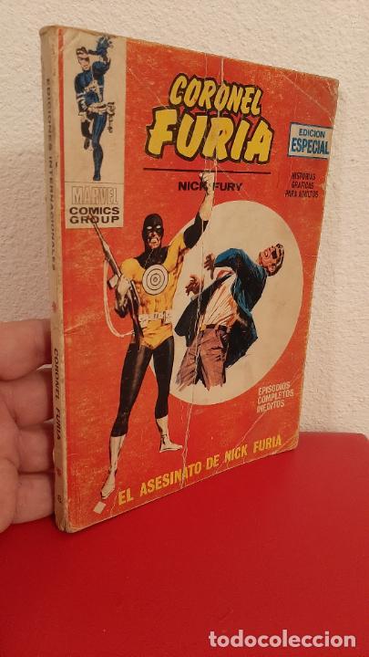 COMIC TACO CAPITAN FURIA MARVEL COMICS EL ASESINATO DE NICK FURY Nº 8 (Tebeos y Comics - Vértice - Otros)