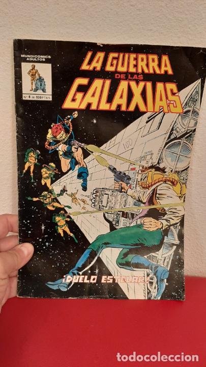 COMIC MUNDI COMICS LA GUERRA DE LAS GALAXIAS Nº 8 VERTICE DUELO ESTELAR 1981 (Tebeos y Comics - Vértice - Otros)