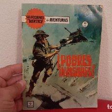 Cómics: COMIC SELECCIONES VERTICE DE AVENTURAS POBRES INVASORES Nº 25 1966 GRAPA. Lote 226669595