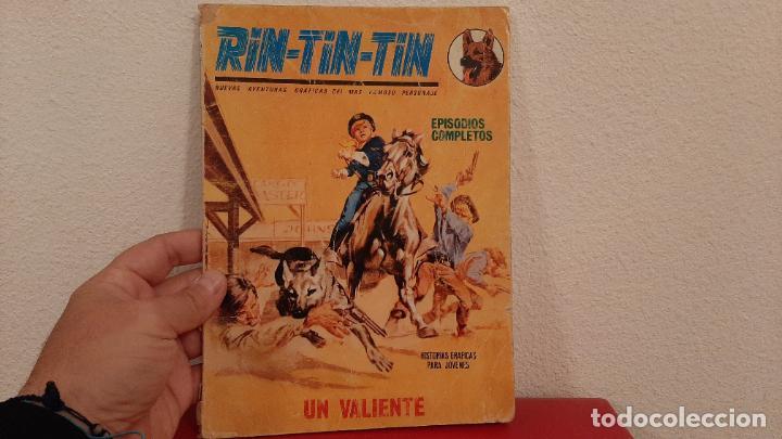 COMIC RIN TIN TIN VÉRTICE- Nº 11 UN VALIENTE Y OTRAS HISTORIETAS 1972 RINTINTIN (Tebeos y Comics - Vértice - Otros)
