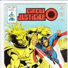 Cómics: CIRCULO JUSTICIERO. NÚMERO 13, MUNDI COMICS. EDICIONES VERTICE. BUEN ESTADO. AÑO 1978. Lote 226744180