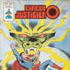 Cómics: CIRCULO JUSTICIERO. NÚMERO 14. MUNDI COMICS. EDICIONES VERTICE. BUEN ESTADO. AÑO 1978. Lote 226744445