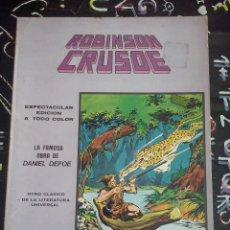 Cómics: VERTICE MUNDI-COMICS : MUNDI COMICS CLASICOS NUM. 7 . ROBINSON CRUSOE. Lote 226783255