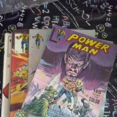 Cómics: SURCO - POWERMAN COLECCION COMPLETA 10 NUM. ( NUM. 1 AL 10 ). Lote 226791445