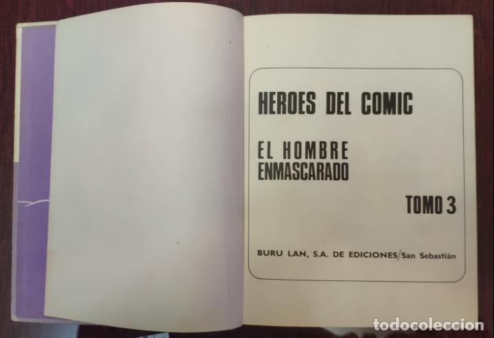 Cómics: HEROES DEL COMIC - EL HOMBRE ENMASCARADO N° 3 (BURU LAN 1971) - Foto 2 - 227093085