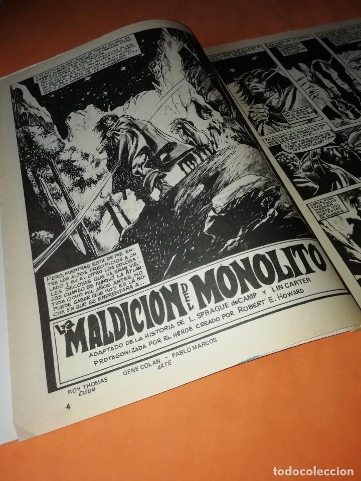 Cómics: RELATOS SALVAJES. CONAN EL BARBARO.LA MALDICION DEL MONOLITO. VOL 1 Nº 73. 1978 - Foto 5 - 227700459