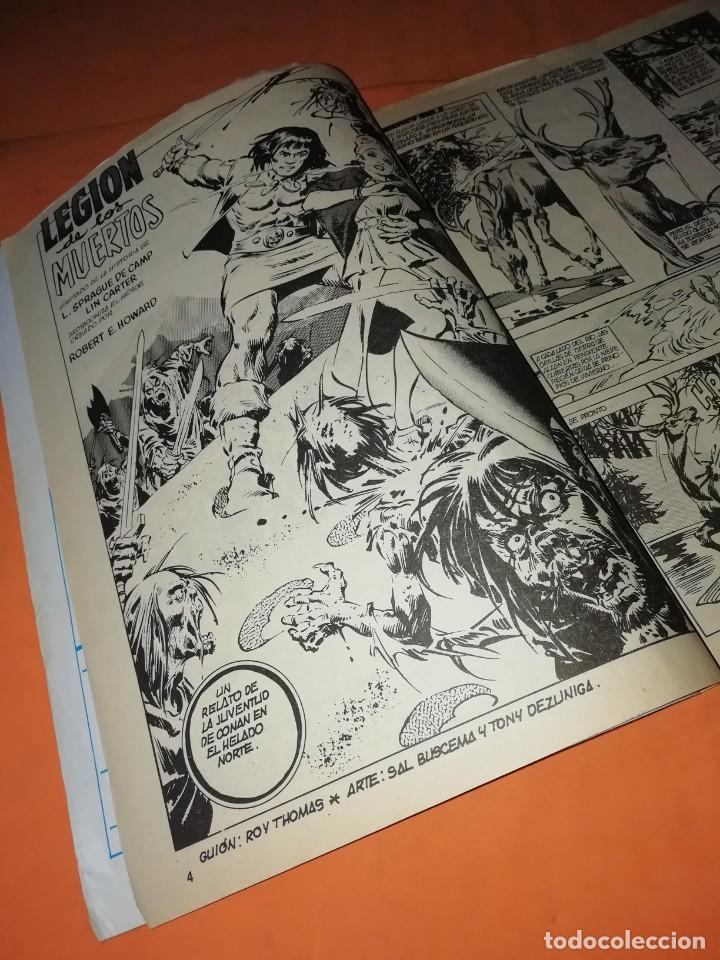 Cómics: RELATOS SALVAJES. CONAN EL BARBARO. LA LEGION DE LOS MUERTOS . VOL 1 Nº 79. 1978 - Foto 2 - 227831960