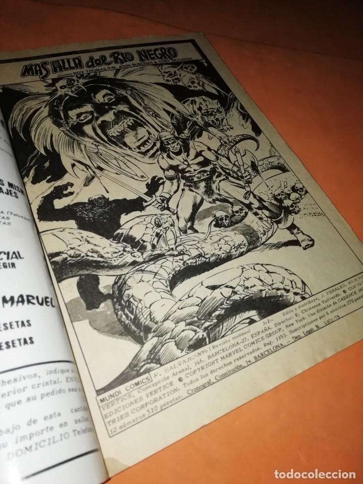 Cómics: RELATOS SALVAJES. CONAN EL BARBARO. mas alla del rio negro . VOL 1 Nº 63. 1978 - Foto 4 - 227864620